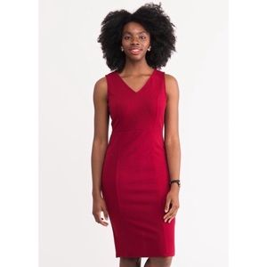 Agnes & Dora Red Mitchell Dress XXS